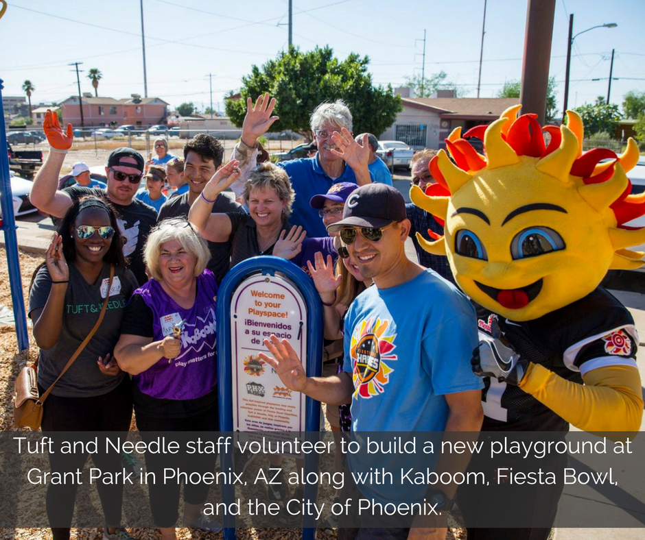 tuft-and-needle-staff-volunteer-to-build-a-new-playground-at-grant-park-in-phoenix-az-along-with-kaboom-fiesta-bowl-and-the-city-of-phoenix