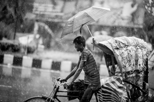 """Monsoon Humanity"" by Ata Adnan"