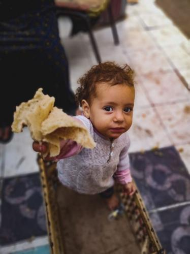 """Do you want to share bread with me?"" Photo by Somiyah Elhassawy"
