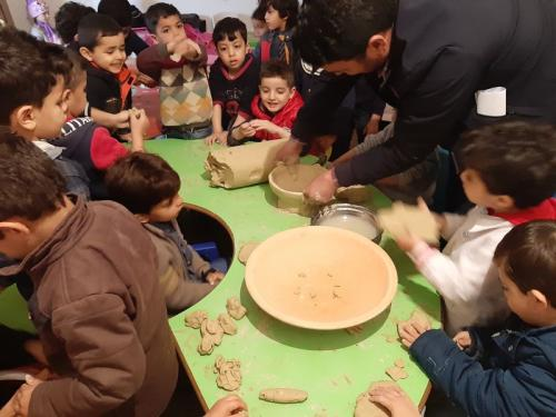 """Pottery Against War"" Photo by Moaed Shabaani"