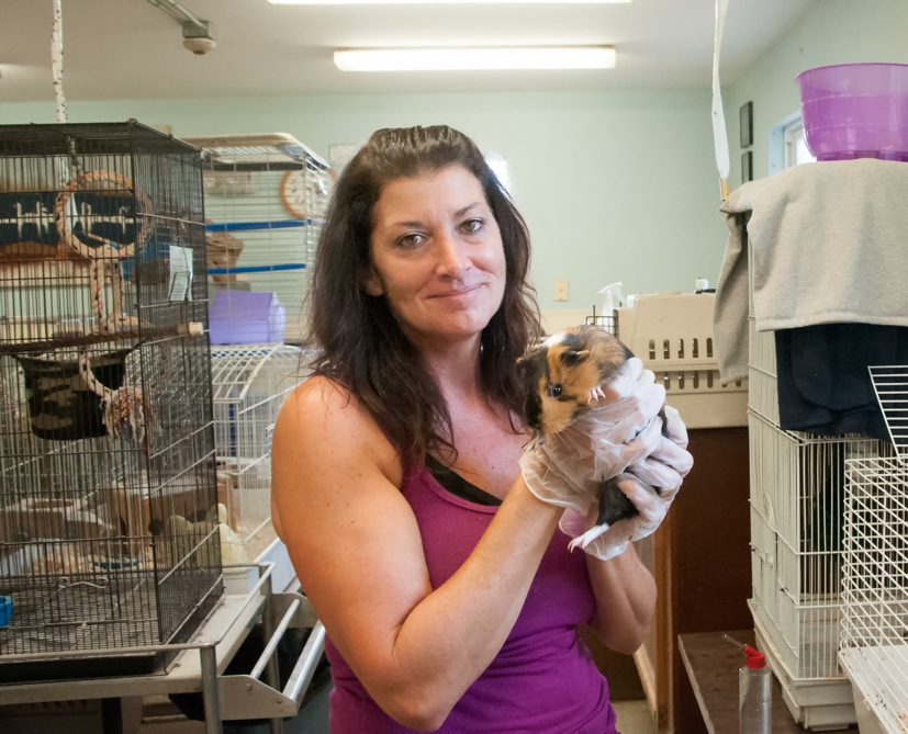 Waterford Country School 12 Tina and Guinea Pig 07AUG2014