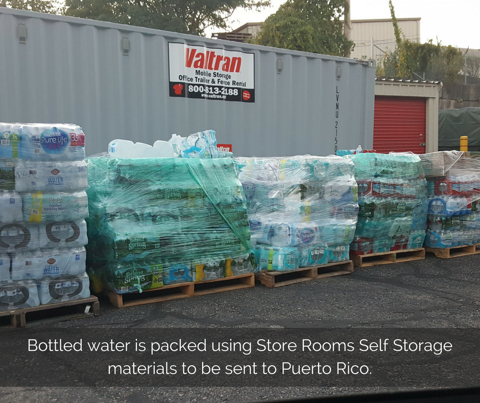 bottled-water-is-packed-using-store-rooms-self-storage-materials-to-be-sent-to-puerto-rico