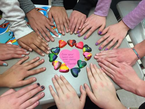"""Giving our Hands and Hearts to Show"" by Jeanne Malgioglio"