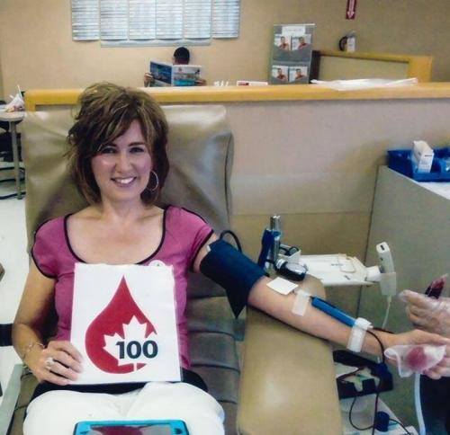 """Donating Blood"" Photo by Renee Lacasse"