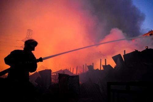 """The Fireman"" Photo by Mithail Afrige Chowdhury"