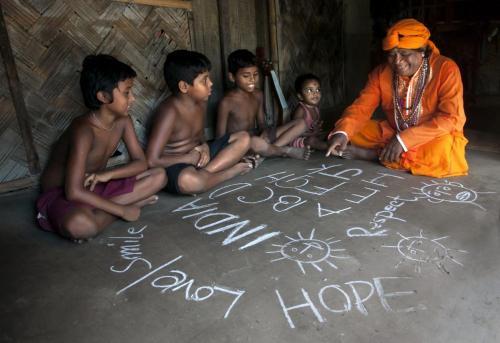 """""""Learning Has No Bar"""" Photo by Kaushik Majumder"""
