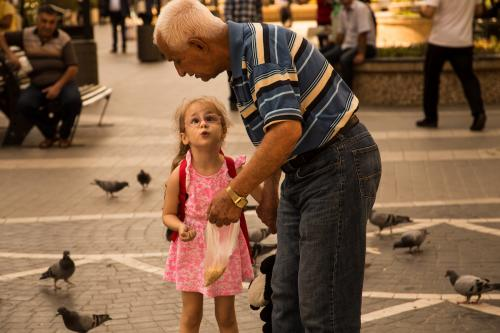 """""""Mr. Pattern And His Beloved Daughter"""" Photo by Mahsa Talebiani"""