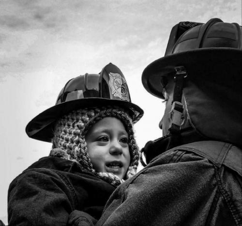 """""""My Daddy and Me"""" Photo by Cynthia Fusco"""