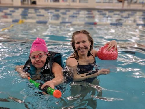 """KEEN Chicago: Swim Class"" Photo by Laura Fillenwarth"