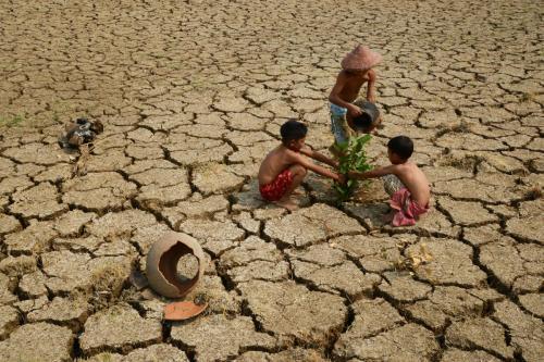 """Save the Earth""Photo by Myo Min Kywe"